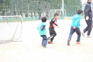 サッカー風景④